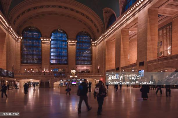 the grand central terminal - daniele carotenuto stock pictures, royalty-free photos & images