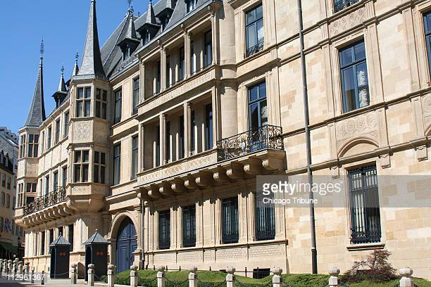 The Grand Ducal Palace, city residence of the Grand Duke's family but used these days primarily for ceremonies, is set handsomely in Luxembourg...