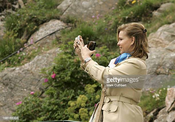The Grand Duchess Maria Theresa Of Luxembourg Attends Queen Sonja Of Norway'S 70Th Birthday CelebrationsVisit To The Lindesnes Lighthouse
