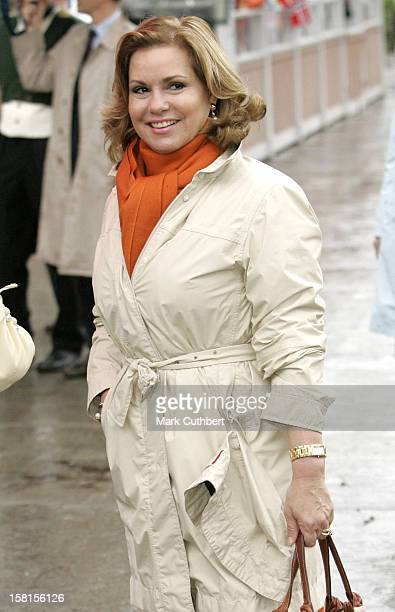 The Grand Duchess Maria Theresa Of Luxembourg Attends Queen Sonja Of Norway'S 70Th Birthday CelebrationsTour The City Of Arendal