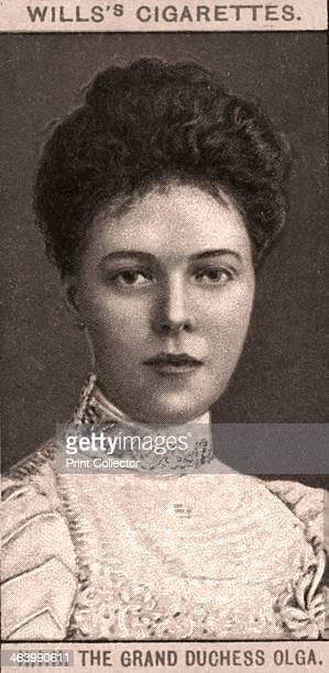 The Grand Duchess Olga 1908 Portraits of European Royalty Wills's Cigarette Cards Bristol London