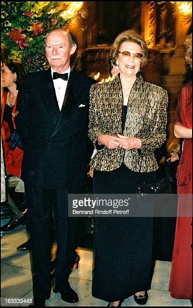 The Grand Duke and Duchess of Luxembourg at theGala Performance At The Opera Garnier In Paris