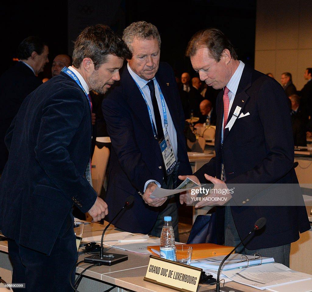 OLY-2014-IOC -LUXEMBOURG : Nieuwsfoto's