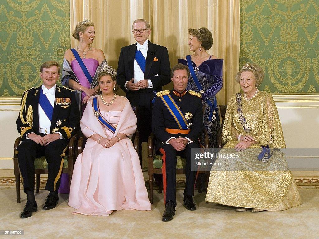 Duke And Duchess Of Luxembourg Make Three Day State Visit : News Photo