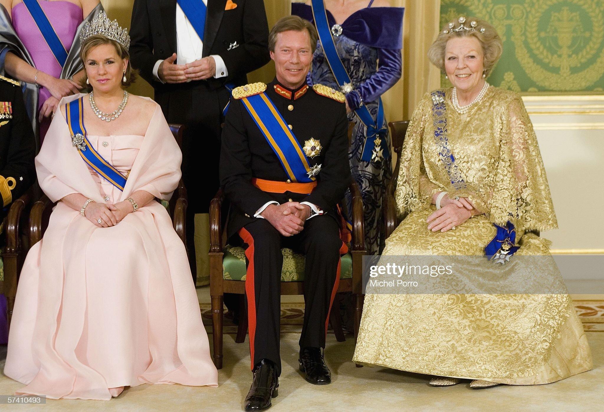Duke & Duchess Of Luxembourg Make Three Day State Visit : News Photo