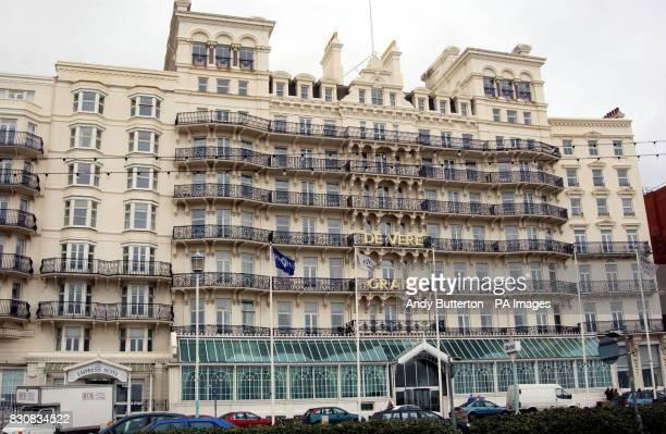 The Grand Hotel In Brighton Where The Bbc Were Holding A Showcase
