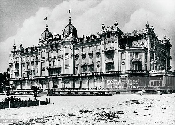The Grand Hotel in Rimini at the beginning of the 1900s Italy 20th Century