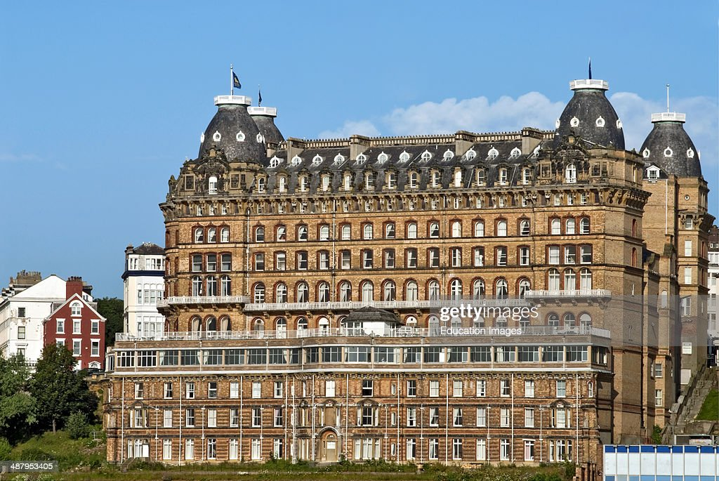 The Grand Hotel Is A Large In Scarborough England Overlooking Town S South