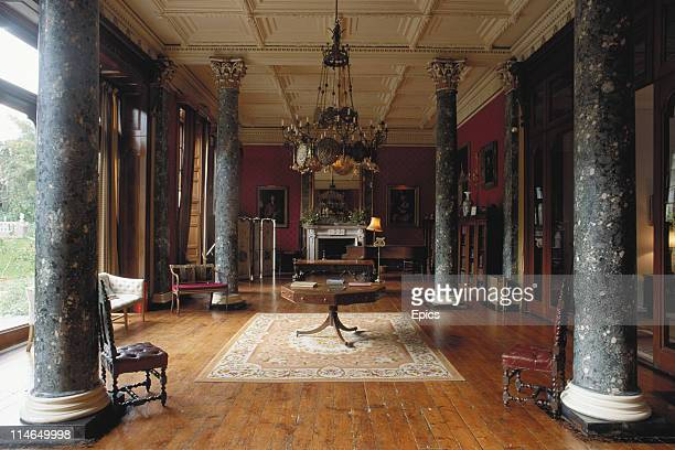 The grand interior in one of the rooms in Bantry House one of Irelands finest historic houses Bantry County Cork Ireland circa 1990