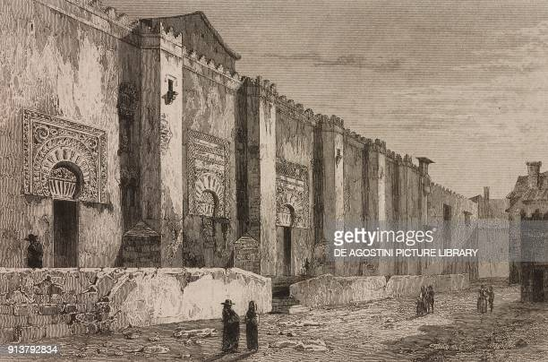 The Grand Mosque of Cordoba Spain engraving by Lemaitre from Espagne by Joseph Lavallee and Adolphe Gueroult L'Univers pittoresque published by...