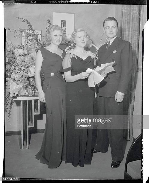 The grand opening of the Hollywood Theatre presenting Betty Furness in Even as Heathens is attended by celebrities of the motion picture world It was...