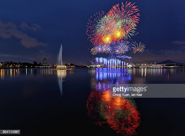 CONTENT] The grand opening of the long awaited Singapore's Sports Hub celebrated with fireworks