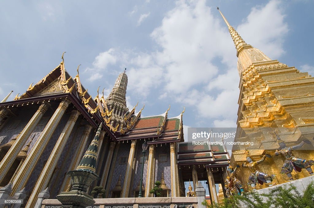 The Grand Palace, Bangkok, Thailand, Southeast Asia, Asia : Stock Photo