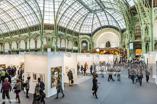 The Grand Palais (palace) during Paris Photo festival
