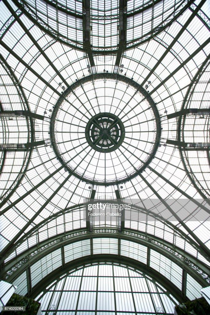 The Grand Palais glass vault, Paris. : Photo
