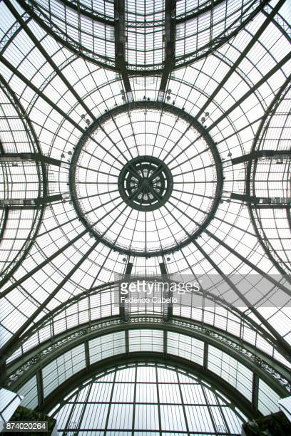 The Grand Palais glass vault, Paris.