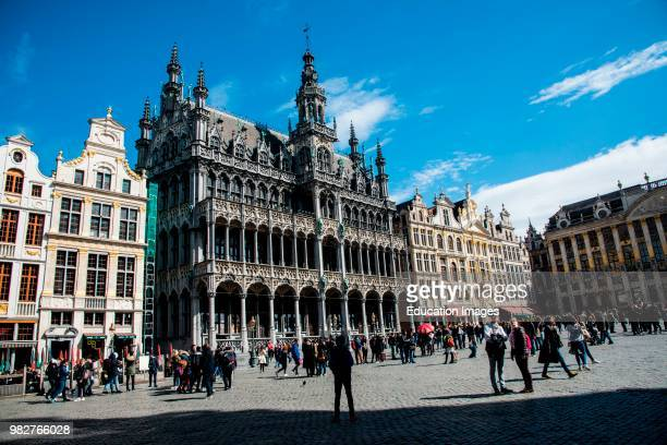 The Grand Place, Brussels, Belgium.