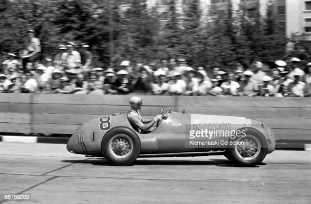 The Grand Prix de Genève; Geneva, July 30,1950. Before the Grand Prix des Nations there was a Formula 2 race. Roberto Mières drove a Ferrari 166F2/49...