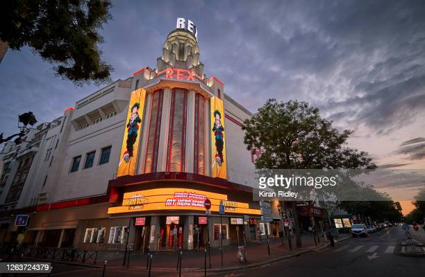 The Grand Rex cinema which boasts Europes largest Auditorium on August 03 2020 in Paris France The Grand Rex Paris's landmark art deco 2800seat...