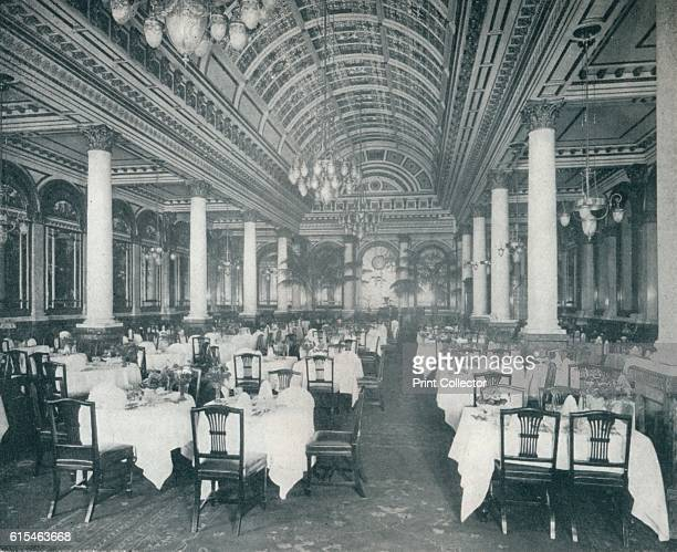 The Grand Salle A Manger 1912 Hotel Restaurant Or Dining Room Prepares And Serves Food