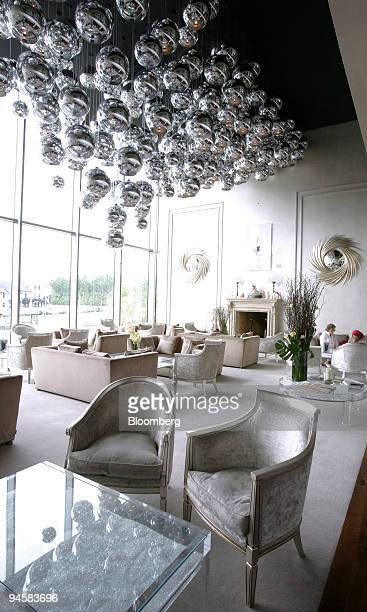 The Grand Salon is seen at the 'g' Hotel in Galway Ireland on Tuesday May 22 2007 The Grand Salon with floor to ceiling windows offering views across...