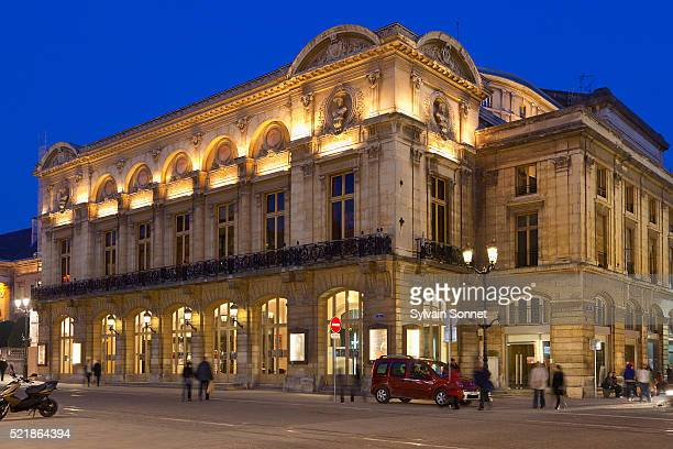 the grand theatre in reims - marne stock pictures, royalty-free photos & images