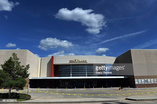 The Grand Theatre is seen on July 24 2015 in Lafayette Louisiana Two people were killed and nine wounded when a shooter identified as John Russell...