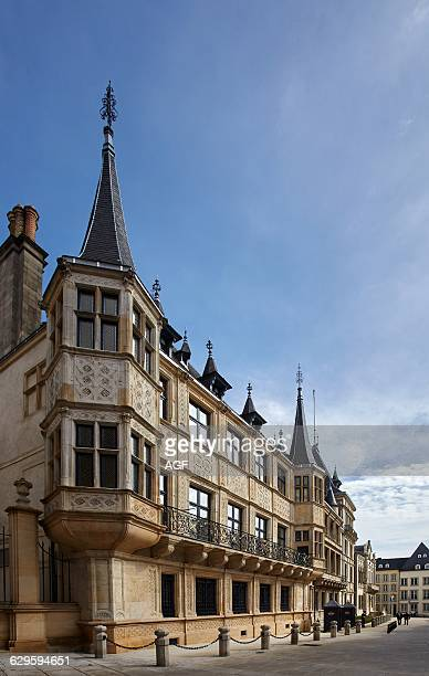 The Grand-ducal Palace in Luxembourg City.