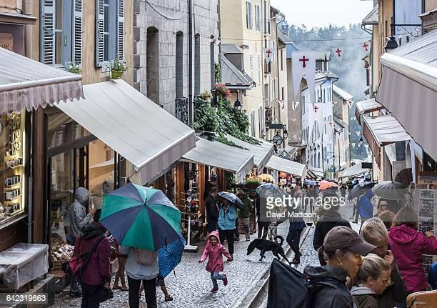 The Grande Rue in Briancon, France.