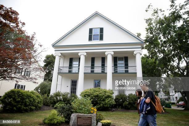 The 'Grandfathers House' in Medford MA is pictured on Aug 31 2017