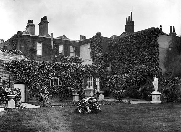 The Grange at North End in Fulham, circa 1900. It was...