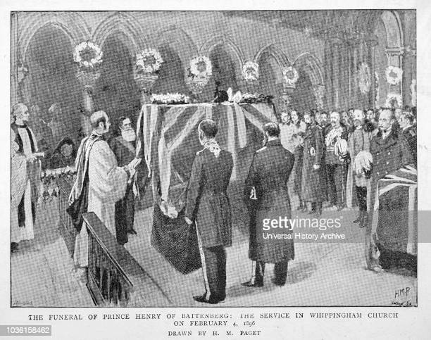 The Graphic Newspaper/Magazine June 1st 1897, Queens Victoria's Diamond Jubilee. The funeral of Prince Henry of Battenburg. The service in...