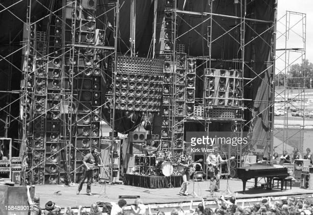 The Grateful Dead perform at the Iowa State Fair Des Moines Iowa June 16 1974