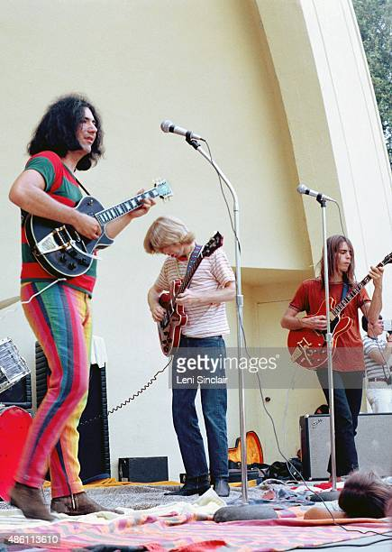 The Grateful Dead perform at West Park on August 13 1967 in Ann Arbor Michigan
