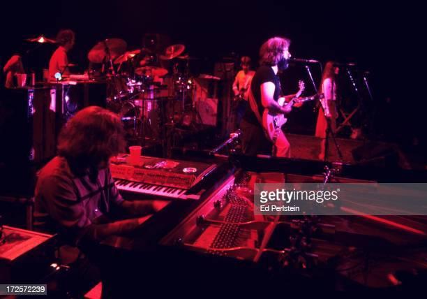 The Grateful Dead perform at Winterland in June 1977 in San Francisco California