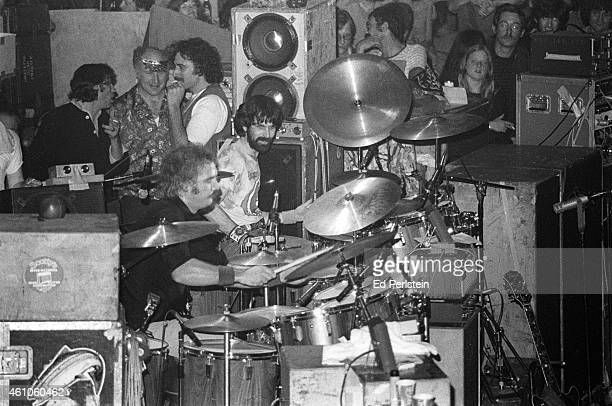 The Grateful Dead perform at Winterland on December 31 1977 in San Francisco California Promoter Bill Graham author Ken Kesey and roadie Steve...