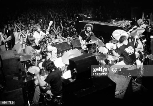 The Grateful Dead perform at Winterland on March 20 1977 in San Francisco California