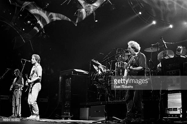 The Grateful Dead performing at Madison Square Garden in New York City on September 16 1993