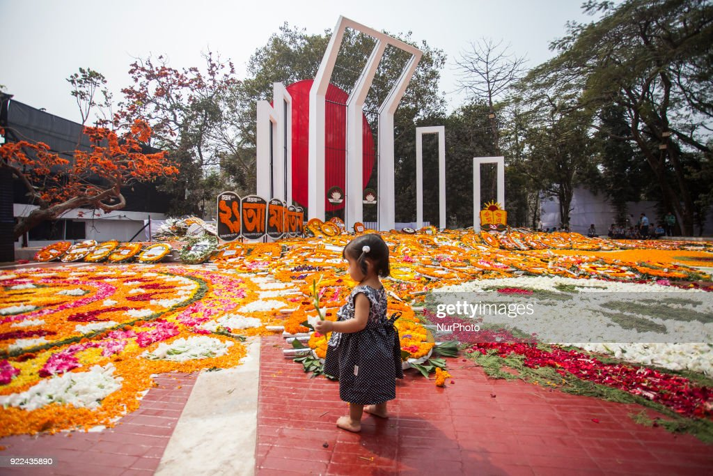 Mother Language Day Marked in Bangladesh : News Photo