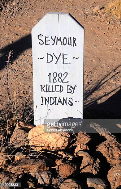 The grave of a man killed by Indians in 1882 is among those found at the historic Boothill Graveyard in Tombstone, Arizona. The cemetery, a popular...