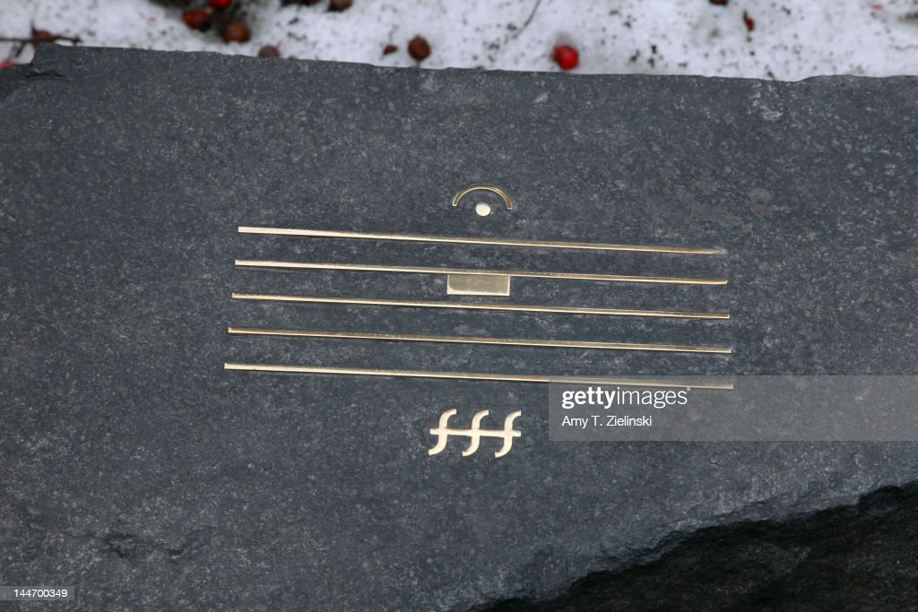Grave Of Alfred Schnittke : News Photo