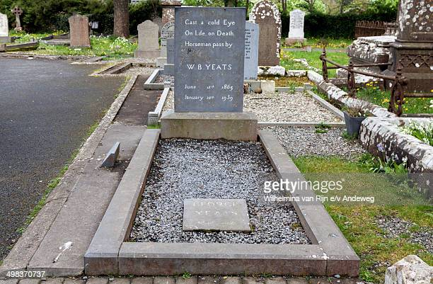 CONTENT] The grave of the famous Irish poet W B Yeats in Drumcliff Cemetery County Sligo Ireland His epitaph reads Cast a cold eye On life on death...