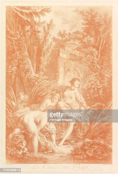 The Grâces au Bain 1756 Artist William Wynne Ryland