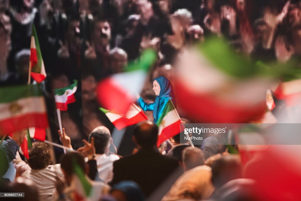 The annual meeting of the Iranian resistance in Paris
