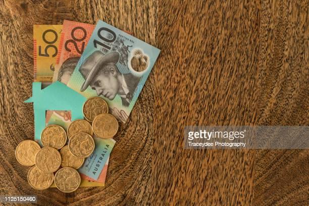The Great Australian Dream involves saving money for a family home.