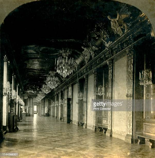 The Great Banqueting Hall, Royal Palace, Stockholm, Sweden', 1904. The Stockholm Palace is the official residence of the Swedish monarch. One image...