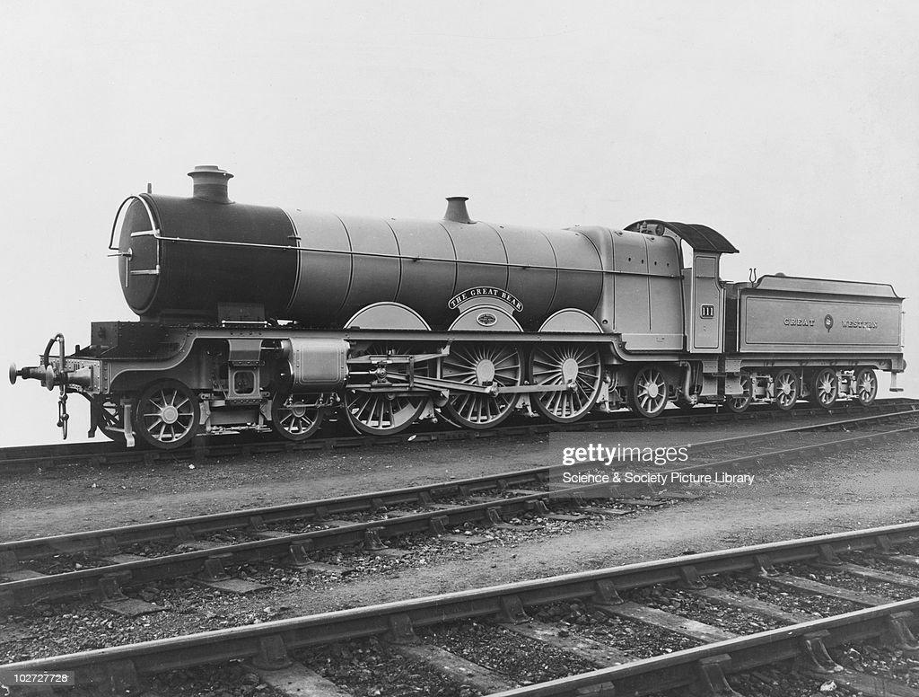 The Great Bear Locomotive. England. : News Photo