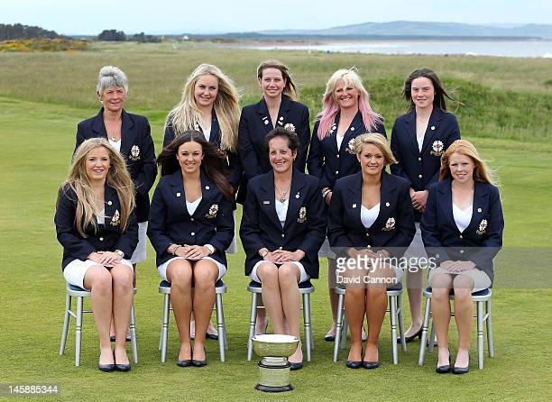 The Great Britain and Ireland Curtis Cup Team Bronte Law Kelly Tidy Tegwen Matthews Amy Boulden Stephanie Meadow Anna Hubbard Charley Hull Pamela...