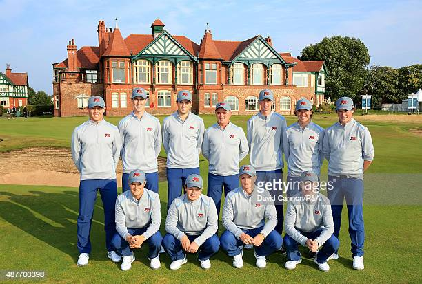 The Great Britain and Ireland Team Grant Forrest, Gary Hurley, Ashley Chesters, Nigel Edwards , Jimmy MullenEwen Ferguson, Cormac Sharvin Jack...