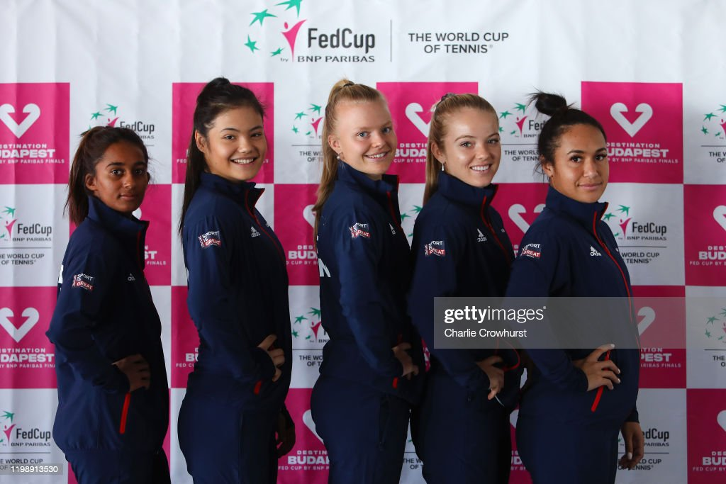 Slovakia v Great Britain - Fed Cup: Preview Day 4 : News Photo